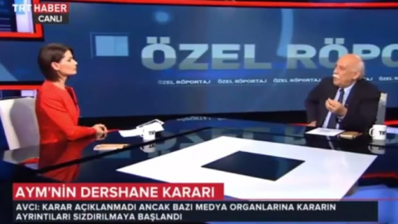 """Special Interview"" with Minister Avcı on TRT Haber TV"